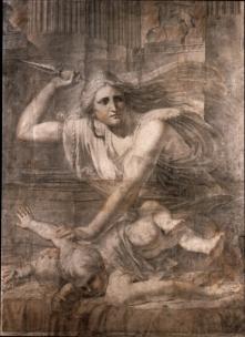 Medea murdering her children.