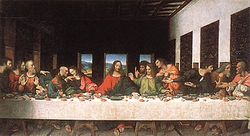 350px-Leonardo_da_Vinci_-_Last_Supper_(copy)_-_WGA12732